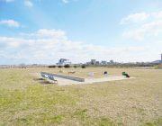 加古川河川敷(1100m)
